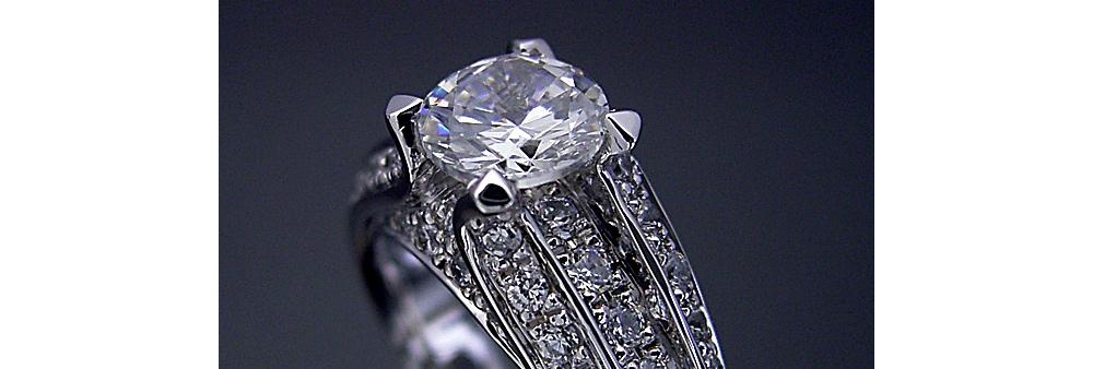 1カラットダイヤモンドにはどんなデザインが良いの?