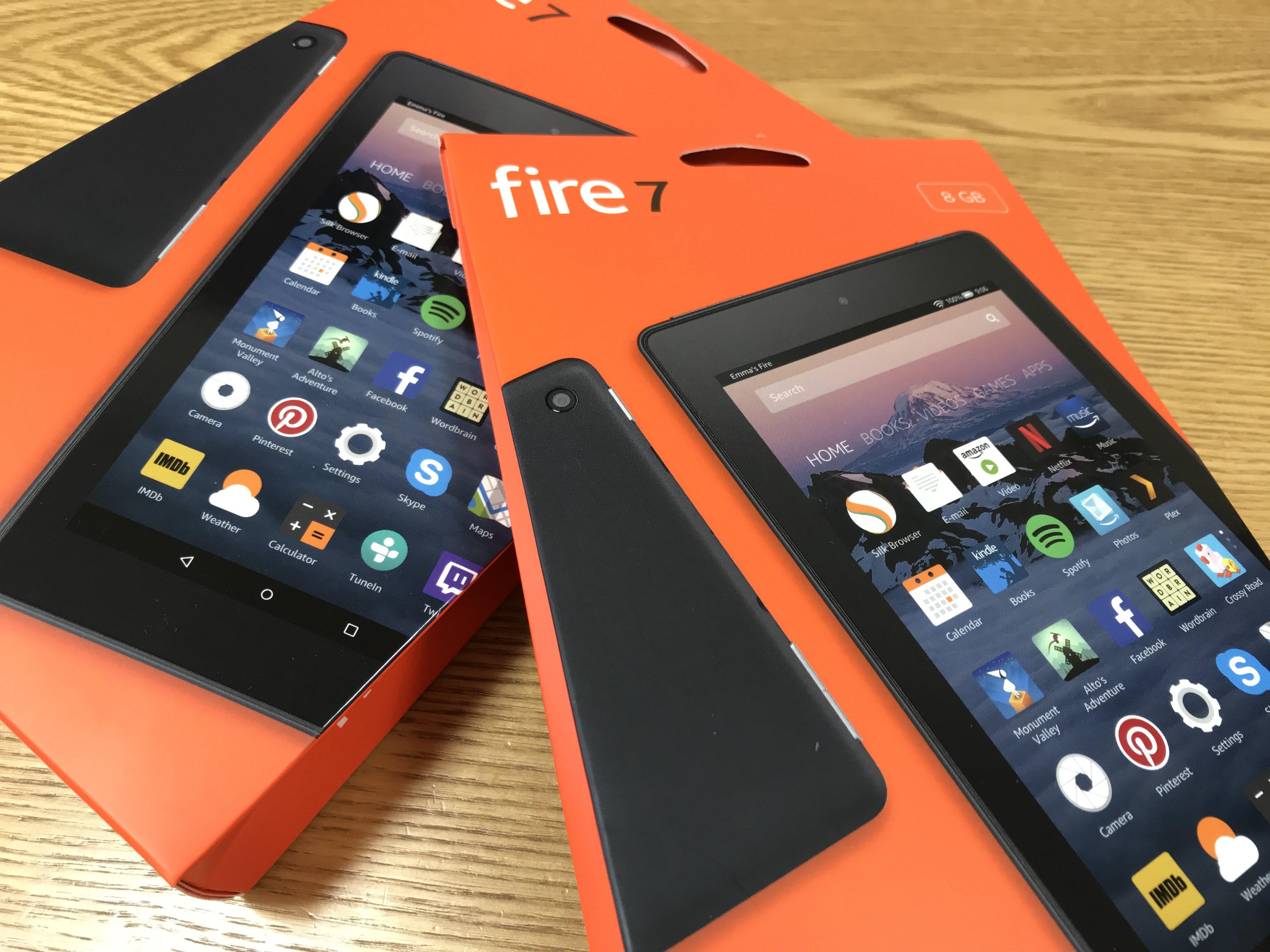 Kindle Fire7をまとめ買いで2台購入し、我が家のタブレットは6台体制に!
