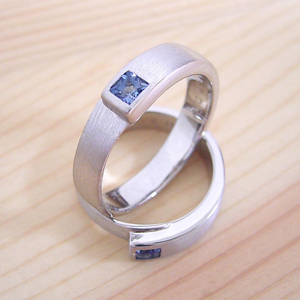 同じデザインの指輪