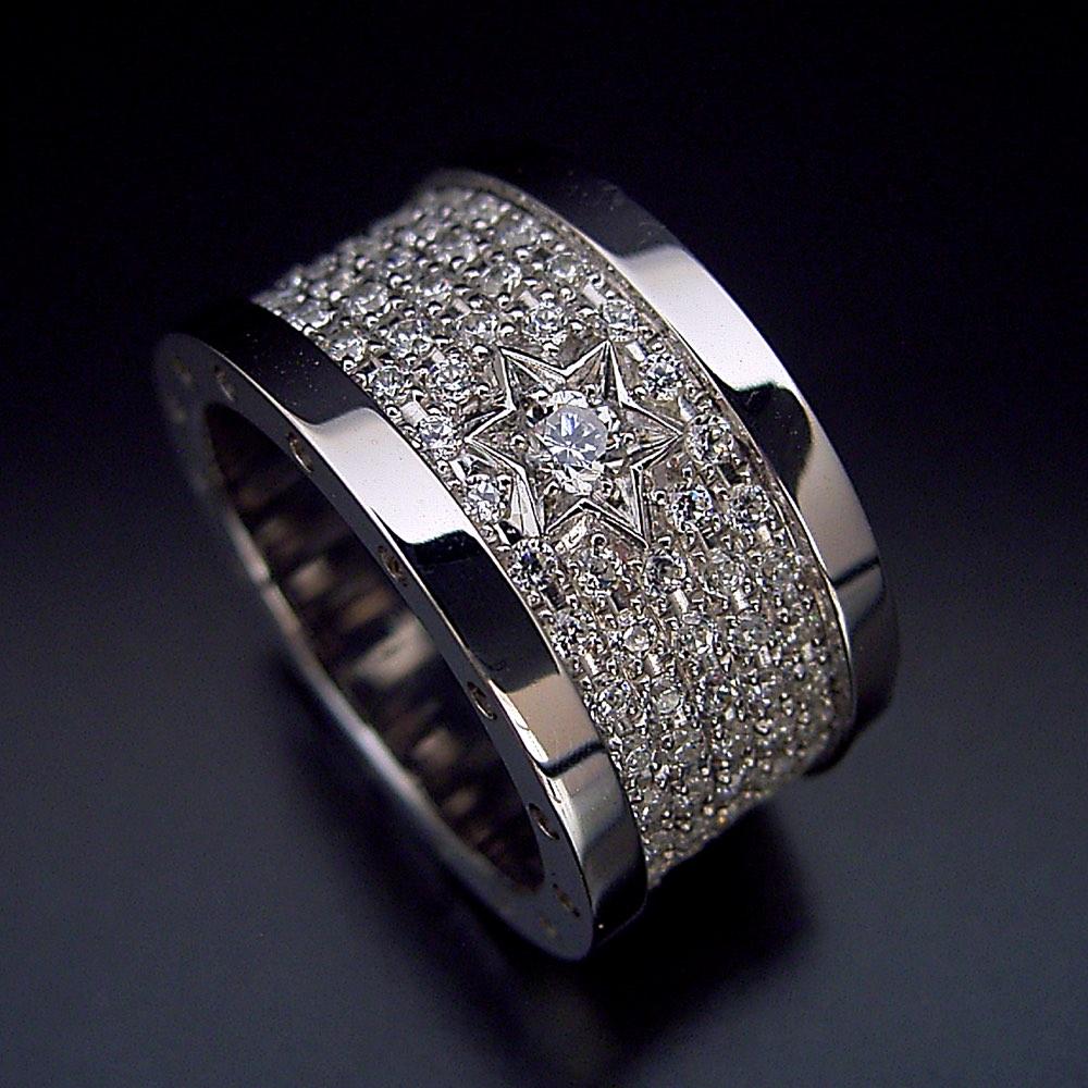 ここまで高級で豪華な指輪はなかなか作れない。。。作りました!