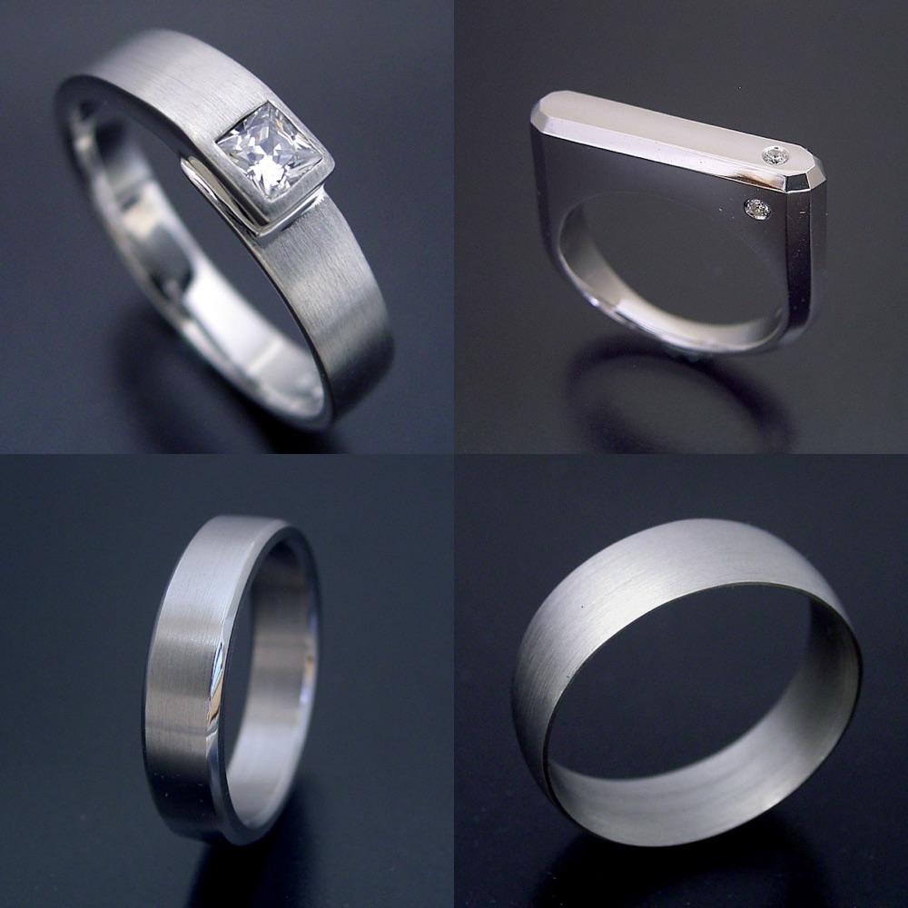 自分で着けている指輪たち