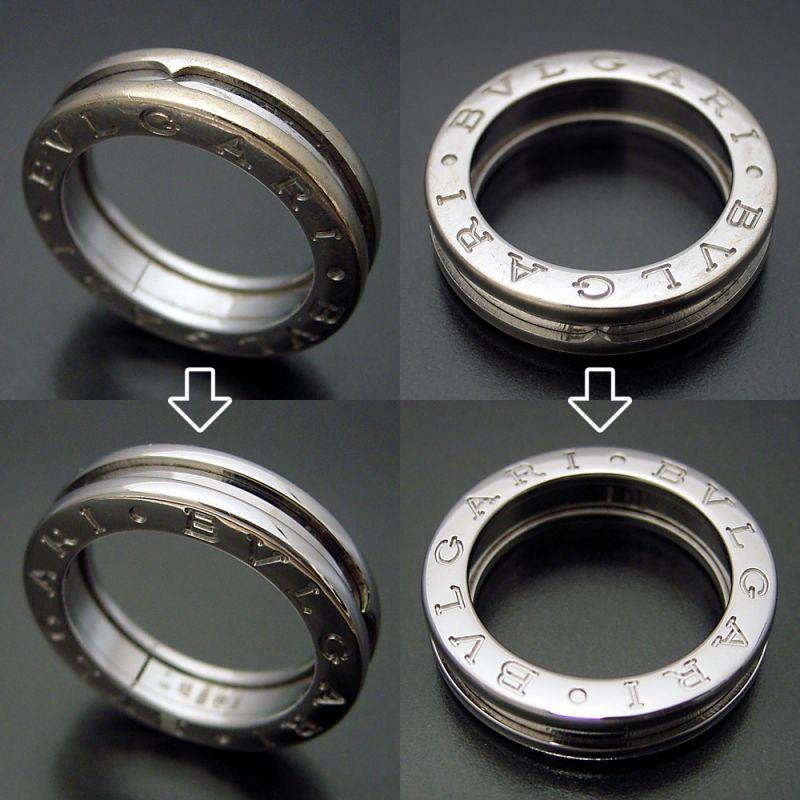 指輪の新品仕上げ