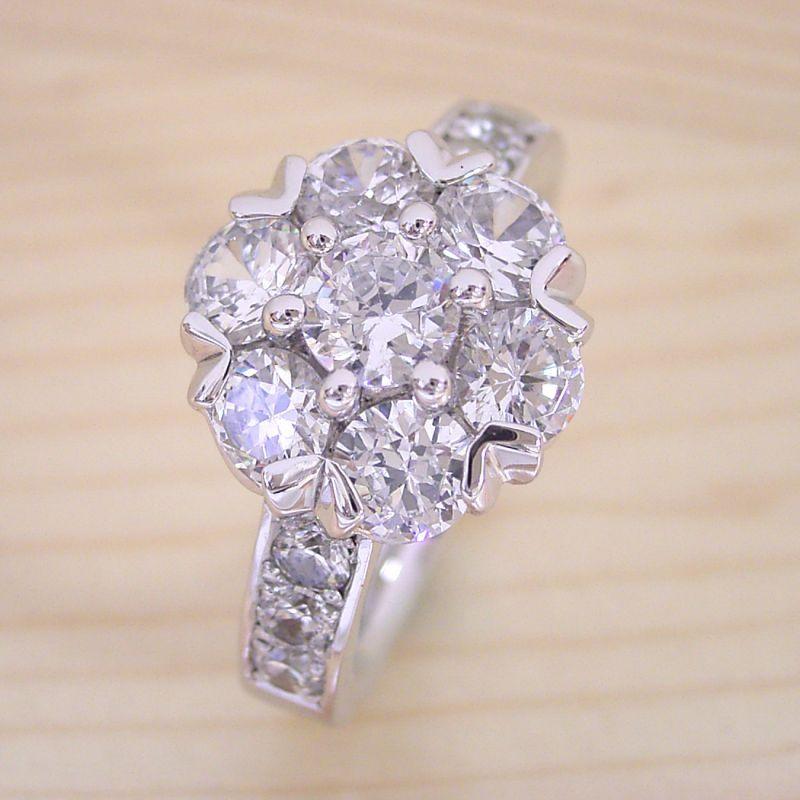 最高に高級な指輪を作りたい。