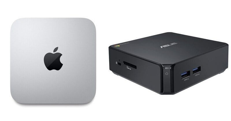 Mac miniかChromeBoxか